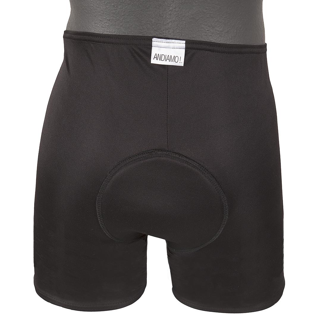 Andiamo Women`s Padded Brief Clothing Shorts Admo Pad Brief Wom Bk Lg