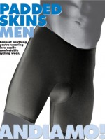 Andiamo! Men's Padded Skins Black
